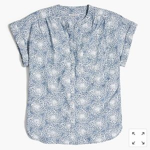 J. Crew Mercantile Camp Shirt Chambray Size S